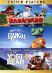 Barnyard/rango/yogi Bear [3 Discs] (dvd) 5114295