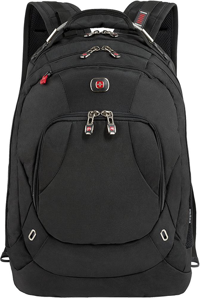 SwissGear - Hardwire Deluxe Laptop Backpack - Black