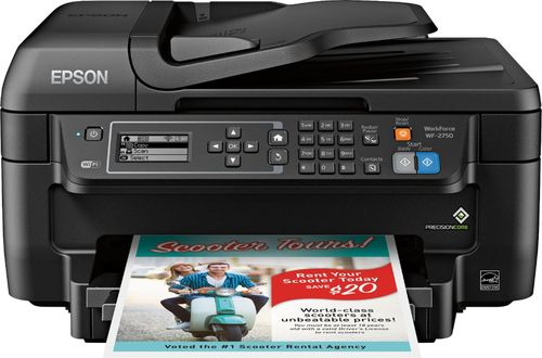 Epson - WorkForce WF-2750 Wireless All-In-One Printer