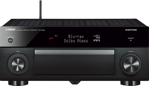 Yamaha - Aventage 240W 7.2-Ch. Network-Ready 4K Ultra HD and 3D Pass-Through A/V Home Theater Receiver - Black