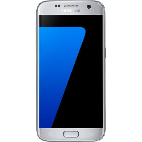 Samsung - Galaxy S7 32GB (Unlocked) - Silver Titanium