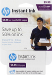 HP - Instant Ink 300-Page Monthly Plan for Select HP Printers