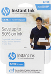 HP - Instant Ink 50-Page Monthly Plan for Select HP Printers