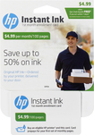 HP - Instant Ink 100-Page Monthly Plan for Select HP Printers