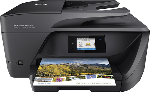 HP - Officejet Pro 6968 Wireless All-In-One Printer