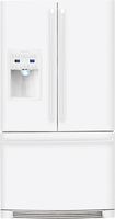 Electrolux - 26.6 Cu. Ft. French Door Refrigerator with Thru-the-Door Ice and Water - White