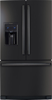 Electrolux - 26.6 Cu. Ft. French Door Refrigerator with Thru-the-Door Ice and Water - Black