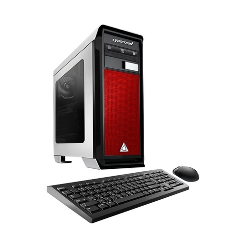 CybertronPC - Rhodium Desktop - AMD FX-Series - 8GB Memory - AMD Radeon R7 240 - 1TB Hard Drive - Red