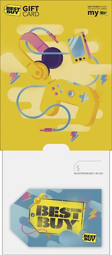 Best Buy Gc - $75 Retro Graffiti Gift Card