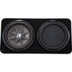 "Kicker - Comprt 12"" Dual-voice-coil 2-ohm Loaded Subwoofer E"