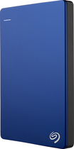 Seagate - Backup Plus Slim 1TB External USB 3.0/2.0 Portable Hard Drive - Blue