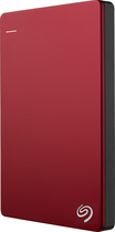 Seagate - Backup Plus Slim 1TB External USB 3.0/2.0 Portable Hard Drive - Red