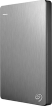 Seagate - Backup Plus Slim 2TB External USB 3.0/2.0 Portable Hard Drive - Silver