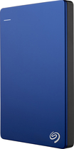 Seagate - Backup Plus Slim 2TB External USB 3.0/2.0 Portable Hard Drive - Blue