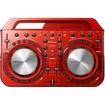 Pioneer - DDJ-WeGO2 Compact DJ Controller - Red