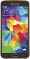 Samsung - Galaxy S 5 4G LTE Cell Phone - Copper Gold (Verizon Wireless)