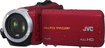 JVC - HD Waterproof Flash Memory Camcorder - Red
