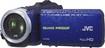 JVC - HD Waterproof Flash Memory Camcorder - Blue