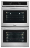 "Frigidaire - Gallery 27"" Built-in Double Electric Convection Wall Oven - Stainless-Steel"