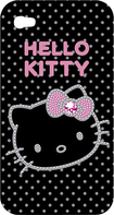 Hello Kitty - Shell Case for Apple® iPhone® 4 and 4S - Black