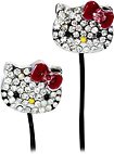 Hello Kitty - Jeweled Earbud Headphones