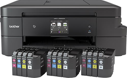 Brother - MFC-J985DW XL Wireless All-In-One Printer
