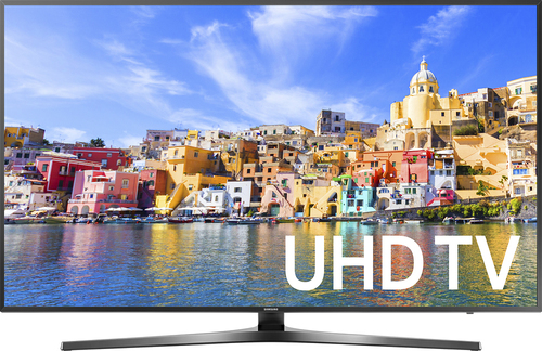 Samsung - 55 Class (54.6 Diag.) - LED - 2160p - Smart - 4K Ultra HD TV with High Dynamic Range - Black