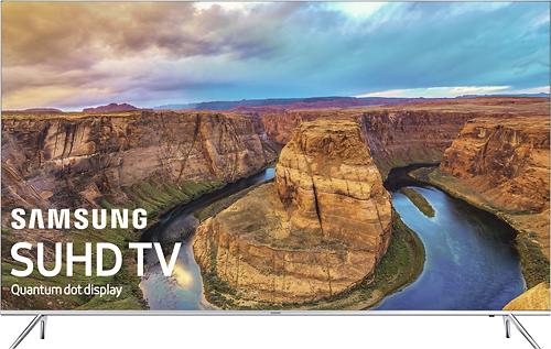 "Samsung - 60"" Class (60"" Diag.) - LED - 2160p - Smart - 4K Ultra HD TV with High Dynamic Range - Silver"