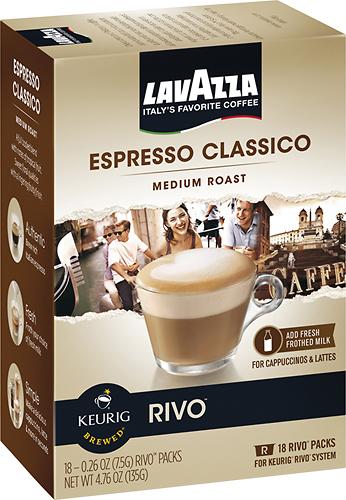 Keurig - Rivo Lavazza Classico Espresso Cups (18-Pack) - Multi