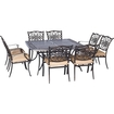 Hanover - Traditions 9-piece Dinning Set Outdoor Furniture - Natural Oat 5151501