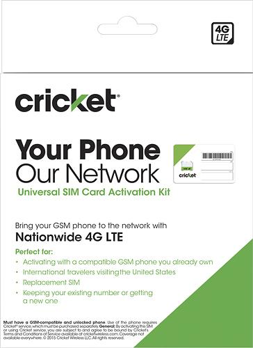 Cricket Wireless - BYOD SIM Kit