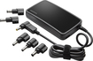 Insignia™ - Slim Universal AC Laptop Power Adapter with USB Charging - Black