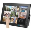 ClearView - Surveillance - 4-Channel, 4-Camera Security System with Touch Screen Monitor and DVR