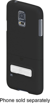 PT - Kickstand/Holster for Samsung Galaxy S 5 Cell Phones - Black