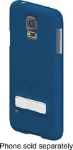 PT - Kickstand/Holster for Samsung Galaxy S 5 Cell Phones - Blue
