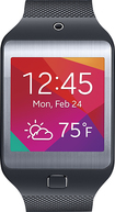 Samsung - Gear 2 Neo Smart Watch with Heart Rate Monitor - Black