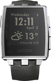 Pebble - Steel Smartwatch for Select iOS and Android Devices - Silver