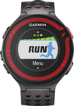 Garmin - Forerunner 220 GPS Watch with Heart Rate Monitor - Black/Red