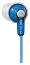 Panasonic - Earbud Headphones - Blue
