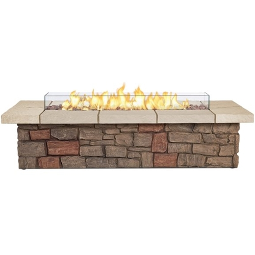 Real Flame Gas Fireplace Brown 11813LP