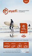 Eye-Fi - Mobi 16GB SDHC Memory Card - Orange