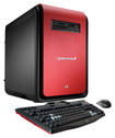 CybertronPC - DS-Force II Desktop - AMD FX-Series - 8GB Memory - 1TB Hard Drive + 128GB Solid State Drive - Red