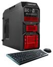 CybertronPC - Kombat-X2 Desktop - AMD FX-Series - 16GB Memory - 1TB Hard Drive - Red