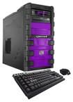 CybertronPC - SLIEX-2X970 Desktop - AMD FX-Series - 32GB Memory - 2TB Hard Drive + 128GB Solid State Drive - Purple