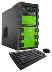 CybertronPC - SLIEX-2X980 Desktop - AMD FX-Series - 32GB Memory - 2TB Hard Drive + 128GB Solid State Drive - Green