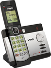 VTech - CS5129 Dect 6.0 Expandable Cordless Phone System with Digital Answering System - Black; Silver