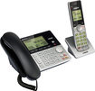 VTech - CS6949 Dect 6.0 Expandable Cordless Phone System with Digital Answering System - Black; Silver