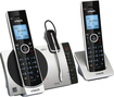 VTech - DS6771-3 Dect 6.0 Expandable Cordless Phone System with Digital Answering System - Black; Silver