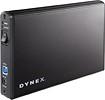"Dynex™ - 3.5"" Serial ATA Hard Drive Enclosure - Black"