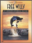 Free Willy (DVD) Widescreen Dubbed Subtitle (Enhanced Widescreen for 16x9 TV) (Eng/Fre/Spa) 1993